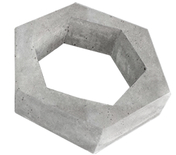Cobogó Hexagonal