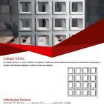 F�brica de elemento vazado de concreto