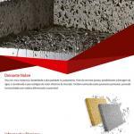 Placa ciment�cia perme�vel