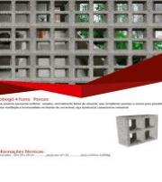 Elemento vazado de concreto