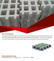 Fabrica de elemento vazado de concreto
